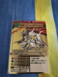 放數碼暴龍卡 digimon card Re-45 杰斯獸金卡