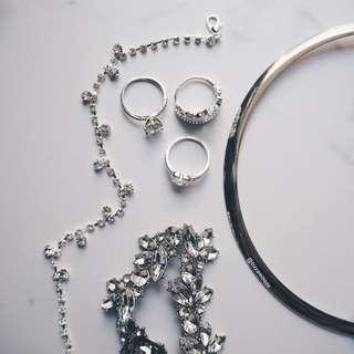 Kalung cincin gelang kaki sets