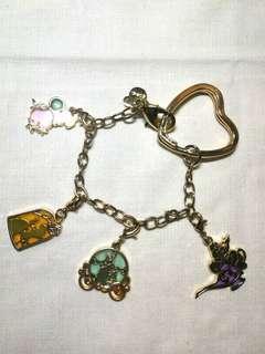 Tokyo Disney Princesses Bracelet & Pendants