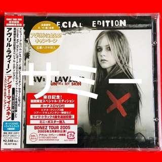 AVRIL LAVIGNE アヴリル・ラヴィーン『アンダー・マイ・スキン UNDER MY SKIN』(🇯🇵日本盤) (来日記念!期間限定スペシャル・エディションCD+DVD) (新品未開封)
