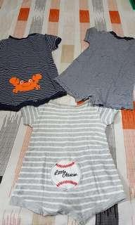 Carter's Onesies for babies (0-6mos)
