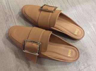 DMK Backless Slip-on Loafer