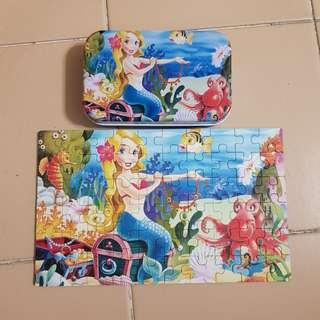 Set of 2 jigsaw puzzles
