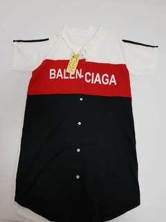 Shirt dress - N