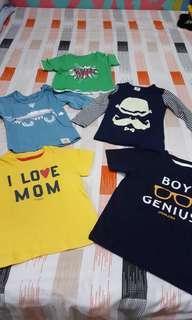 Boy's Shirts (6months to 2yrs)