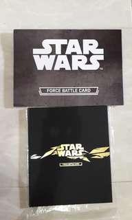 Album Star Wars Force Battle Card Free Pez Darth Vader