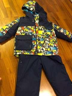 Decathlon Ski Winter Jacket and Pants Boys 3 years old
