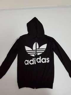 Adidas Jacket - purplish black - M