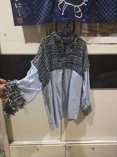 Zara shirt size L fits up to XL