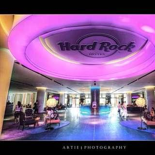 HARDROCK HOTEL 21 DEC FRIDAY