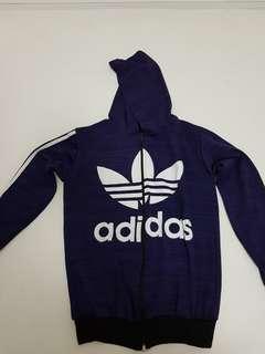 Adidas jacket - purple - M