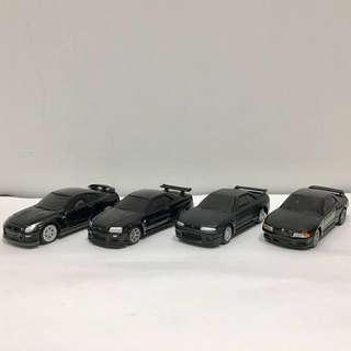 Nissan GTR R32 R33 R34 R35 mini toy car 日產迷你玩具車 Tomy tomica Hotwheels hot wheels