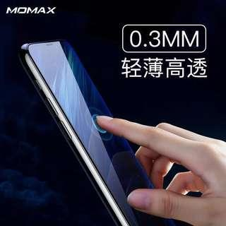 Momax iPhone XR 保護膜鋼化膜 6.1鋼化玻璃膜防撞防爆防刮花納米高清貼膜