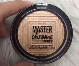 Maybelline Master Chrome ( Masih Segel )