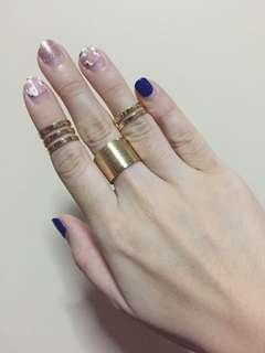 Set of 3 cage rings