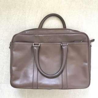 Coach Faux Leather Briefcase