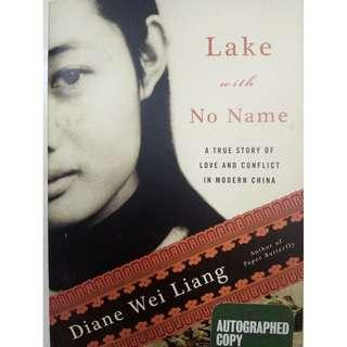 Lake with no name - Autobiography (Autographed copy)
