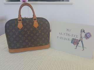 Authentic Louis Vuitton Alma PM Monogram