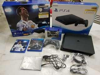 Sony Playstation PS4 FIFA 18 Bundle ( 2 DS4 + 2 Games)
