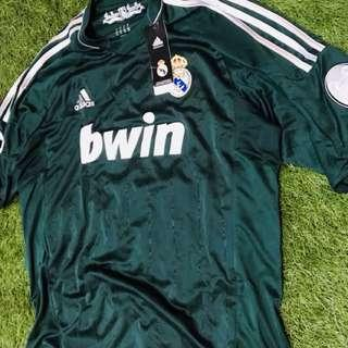 Brand New Authentic Real Madrid 12/13 Champions League 3rd Jersey