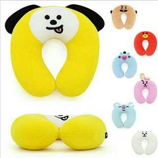 Bt21 neck pillow