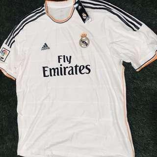 Brand New Authentic Real Madrid 13/14 Home Jersey