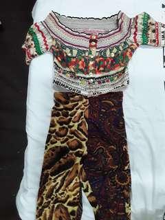 Moschino and versace full set