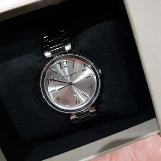 Hushpuppies 3856L Silver (BOLEH NEGO)