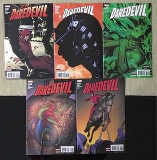 Marvel Comics Daredevil: Mayor Murdock (Complete #601-605)