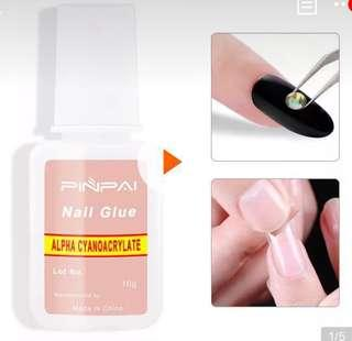 Professional Strong Brush Nail Glue Nail Acceseries Artificial Nail Glue