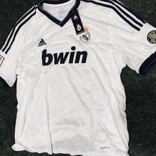 Brand New Authentic Real Madrid 12/13 Home Jersey