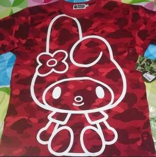 A Bathing Ape BAPE x My Melody Tee Shirt
