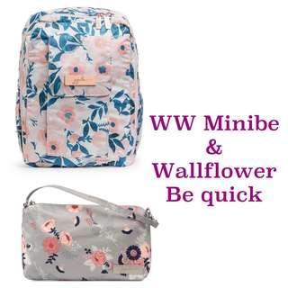 Ju-Ju-Be RG Whimsical Watercolour Minibe & Wallflower Be Quick
