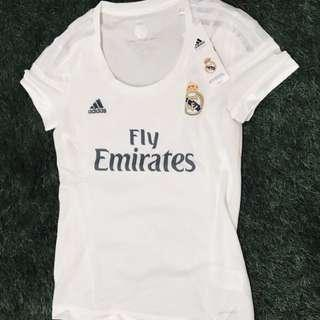 Brand New Authentic Real Madrid 15/16 Ladies Away Jersey
