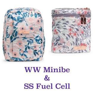 Ju-Ju-Be RG Whimsical Watercolour and Sakura Swirl Fuel Cell