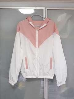 Pink windbreaker brand new