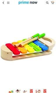 🚚 Hape Rainbow Xylophone Toddler Wooden Musical Instrument