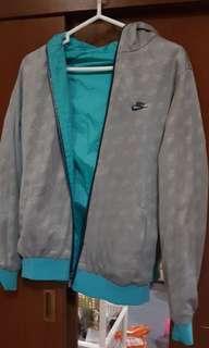 Jaket Nike Bolak Balik Parasut Hoodie