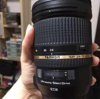 🚚 Tamron 24-70 F2.8 Di Vc Usd(A007) for canon