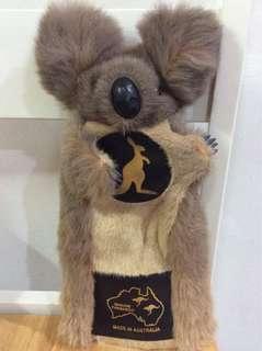 Koala Hand Puppet (Kangaroo Leather)