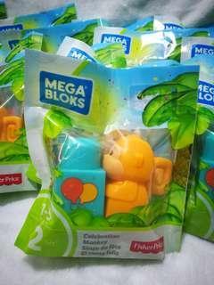Megabloks monkey 2pcs #bfkids
