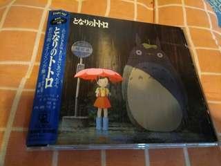 宮崎駿 龍猫 歌集 87年初版日版cd
