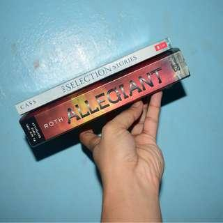 Books - Allegiant, The Selection Stories