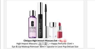 Clinique High Impact Mascara Set (4 items for RM125)