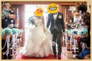 型格婚紗 wedding gown
