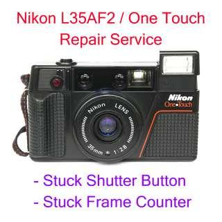 Nikon L35AF2 / One Touch Repair