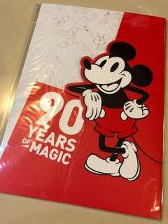 Mickey Mouse 90th Anniversary Folder Set