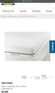 Malfors queen mattress