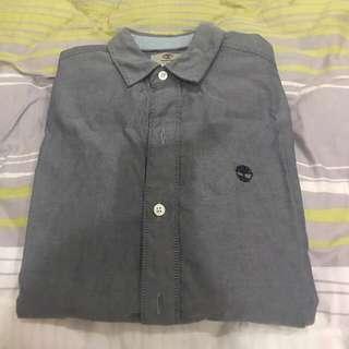 🚚 Timberland 長袖襯衫 穿過一次 可議價