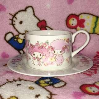 My Melody Ceramic Teacup With Saucer